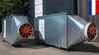 Urban air cleaning: ENS technology system could turn car parks into lungs of the city - TomoNews