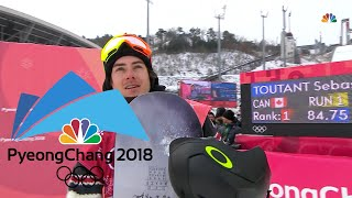 Canada's Sebastien Toutant wins gold in big air