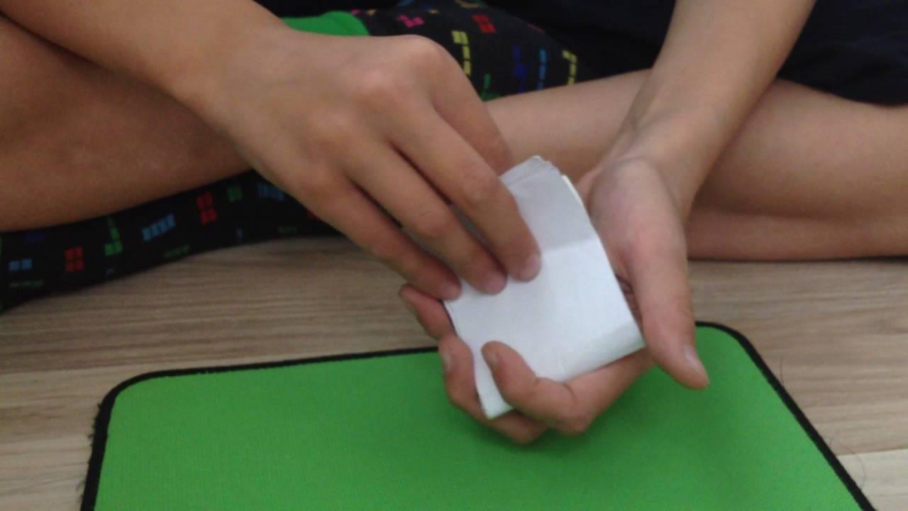 Как сделать трюки из бумаги 584