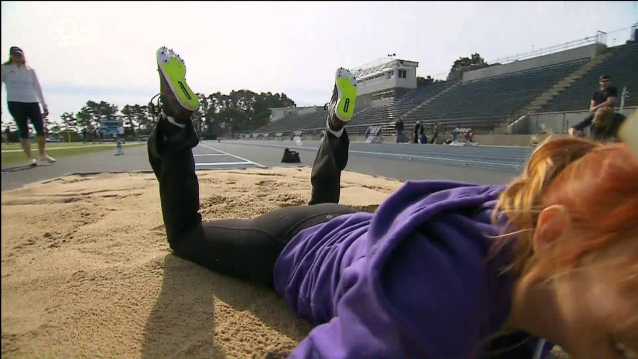 Kari Byron Ass Running Gear - Downtop Mythbusters HD - YouTube