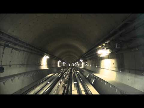 Dubai Metro Green Line - Etisalat to Dubai Healthcare City - Speedup [1080p]