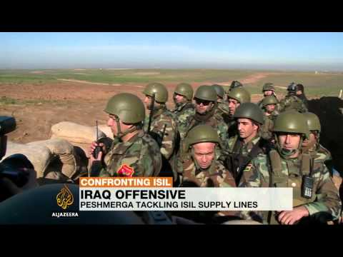 Iraq's Peshmerga cut-off key ISIL supply-line