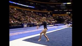 Terin Humphrey - Floor Exercise - 2004 U.S. Gymnastics Championships - Women - Day 1