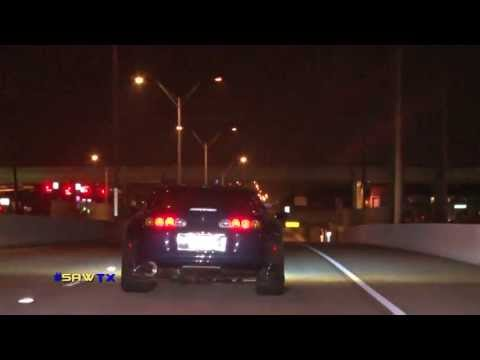 Worlds Fastest Supra's Street Racing At TX2K13 #SAWTX RAW FOOTAGE FREE DVD INFO BELOW