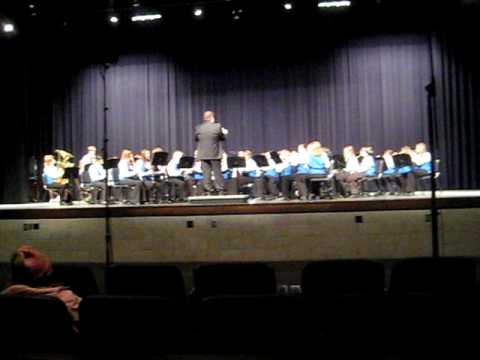 Peace Jubilee by the Sparkman Middle School Band 2010