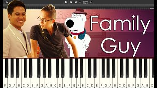 Family Guy l Piano Cover
