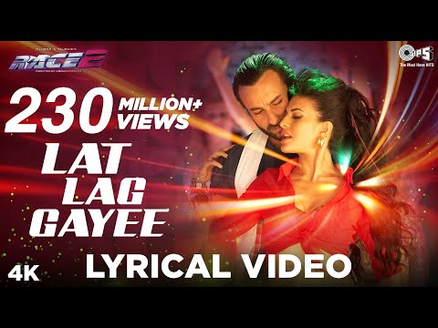 Lat Lag Gayee Lyrics Video - Race 2 - Saif, Jacqueline, Benny Dayal, Shalmali