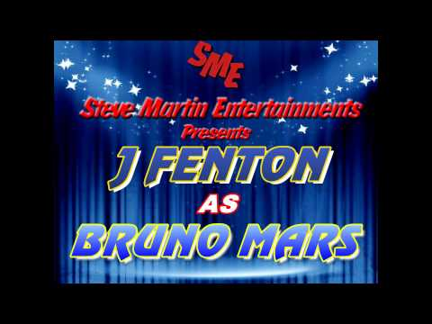 J Fenton As Bruno Mars