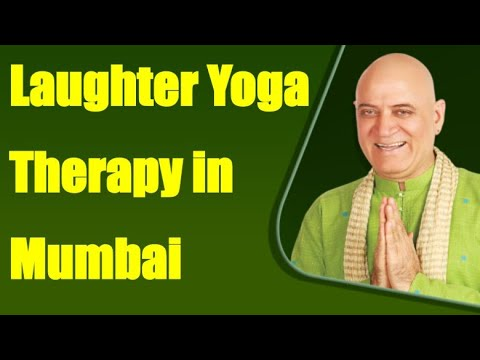 Laughter Yoga Therapy with Dr Madan Kataria in Mumbai
