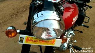 Royal enfield classic 350 redditch Red review in TELUGU