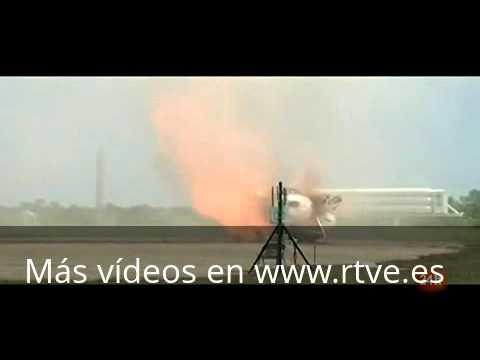 El cohete Morpheus de la NASA se estrella en Florida