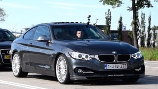 BMW Alpina D4 BI-TURBO - Acceleration SOUNDS!!!