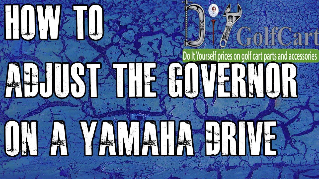 Yamaha G Golf Cart Governor Adjustment