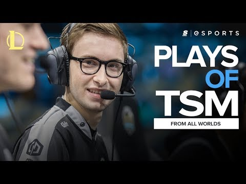 The BEST Team SoloMid plays from ALL Worlds (2011-2016) ft. Bjergsen, Reginald and Doublelift