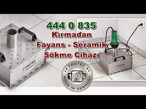 Kırmadan Fayans - Seramik Sökme Cihazı -TROTEC TilexPro
