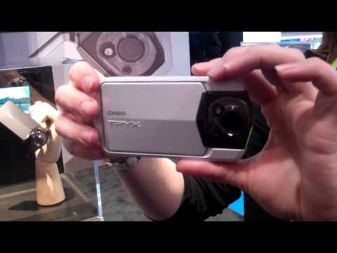 Thumb Review of Casio TRYX, Video Camera Recorder – CES 2011