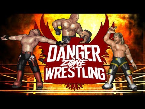 Danger Zone Wrestling - Ep 1 - WELCOME TO THE DANGER ZONE!! (DZW Fire Pro Wrestling)