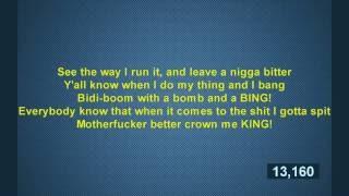Is Eminem really a Rap God Speed Test! Busta Rhymees, Tech N9ne, Twista, Young Blaze by ..marrouki..