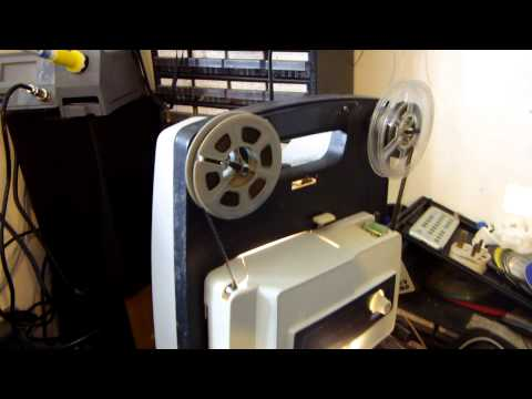 Ilford Elmo FP-C 8mm Vintage Film movie Projector