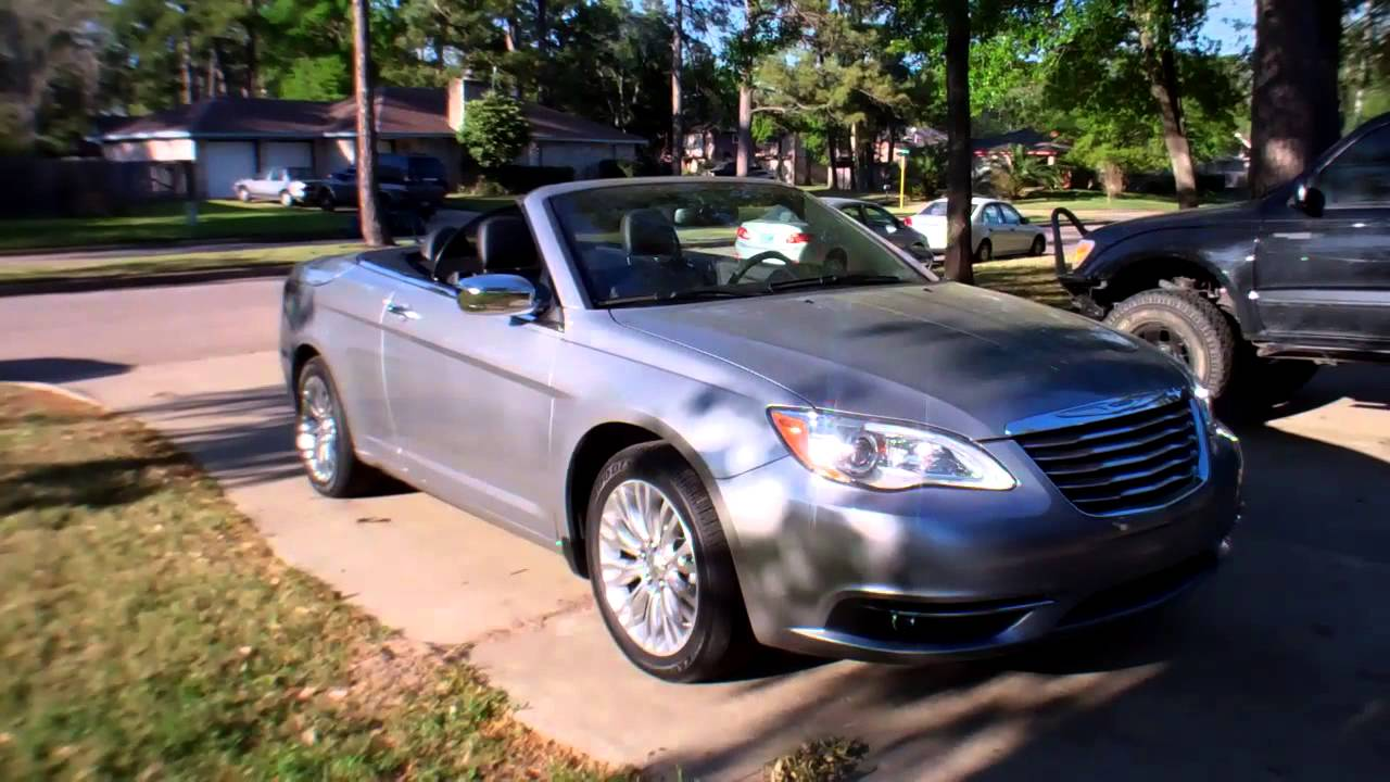 2013 chrysler 200 convertible review youtube. Black Bedroom Furniture Sets. Home Design Ideas