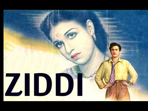 Ziddi│full Hindi Movie│dev Anand, Kamini Kaushal│part 1 video