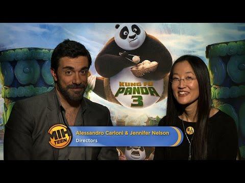 """Directors Alessandro Carloni & Jennifer Nelson On """"Kung Fu Panda 3"""""""