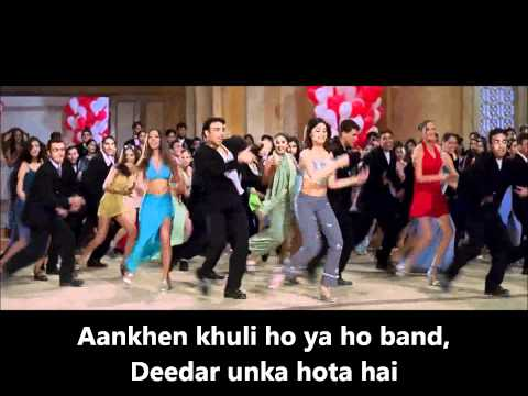 Aankhen Khuli- Real Video Karaoke+minus one (Mohabbatein).wmv...