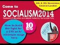 Come to Socialism 2014 - a weekend of discussion and debate hosted by the Socialist Party  - نشر قبل 14 ساعة