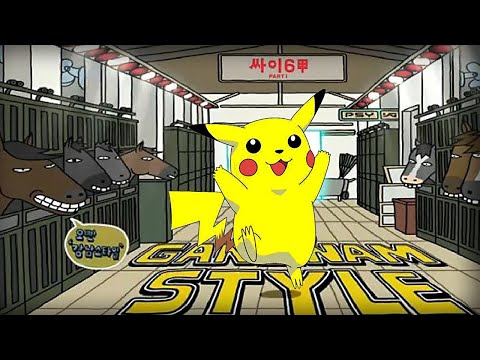 Oppa Pika Style - PSY - GANGNAM STYLE (강남스타일) PARODY!