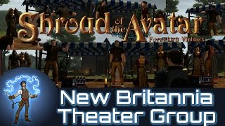 Shroud Of The Avatar - New Britannia Theater Group Presents - They Who Dwell In Darkness