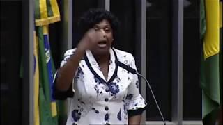 Benedita da Silva fala sobre a situação da segurança no Rio de Janeiro