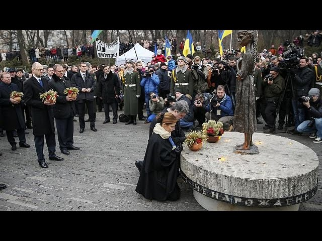 Ukraine famine anniversary takes on special meaning