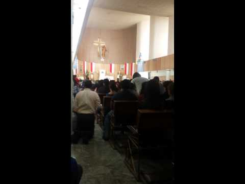 En el Templo de Cristo Rey. Delicias Chihuahua.