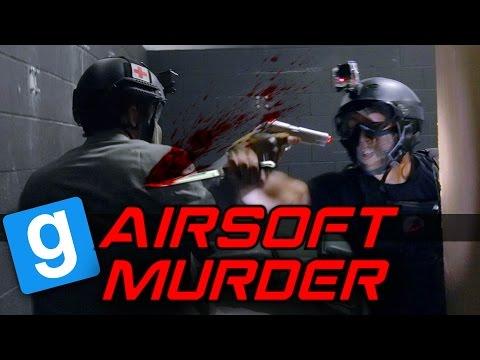 Airsoft MURDER Gmod - Blood Bath