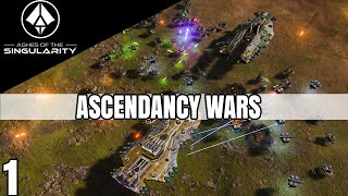 Ashes of the Singularity Ascendancy Wars Part 1 Imminent Crisis