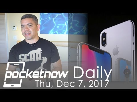 iPhone X 2018 OLED changes, AT&T Huawei Mate 10 Pro & more - Pocketnow Daily