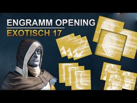 Destiny Engramm Opening Exotisch #017 [Deutsch/German]