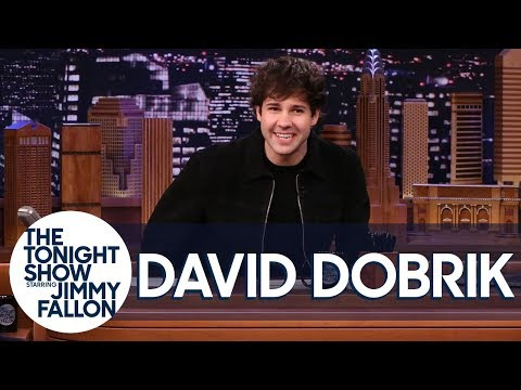 David Dobrik Takes Over The Tonight Show