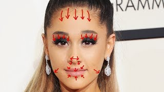 Removing ARIANA GRANDE'S Plastic Surgery