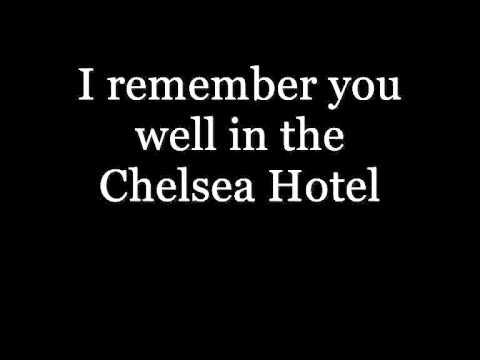 Lana Del Rey - Chelsea Hotel No 2