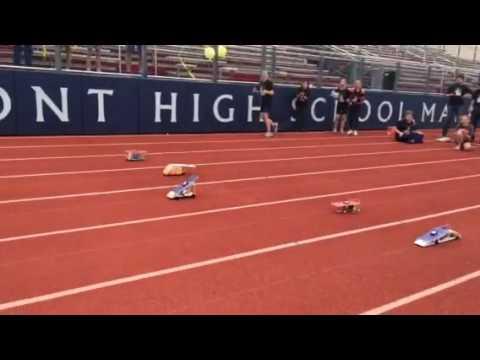Junior solar sprint finals