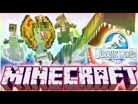 Minecraft Jurassic World Modded Roleplay Adventure! Ep.8