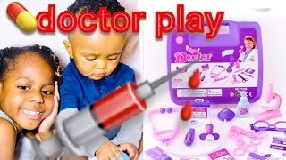 Playing Pretending Doctor Toy