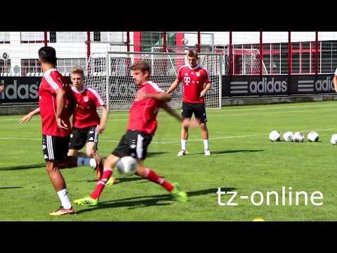 Thiago Alcantara - Erstes Training beim FC Bayern (17.07.2013 - Thiago Alcantara)