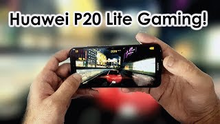 Huawei P20 Lite Gaming Review & Heating Test!