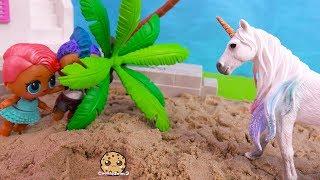Unicorn At Summer Beach House ! LOL Surprise Part 5