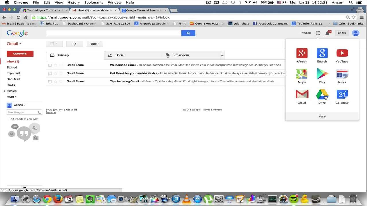 how to close gmail account