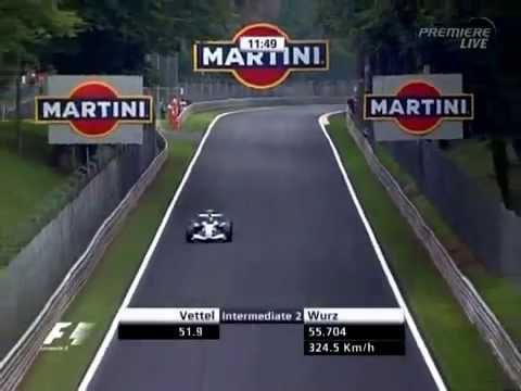 F1 Monza 2006 Sebastian Vettel BMW Sauber F106