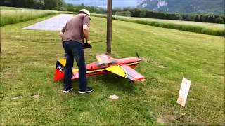 Extra 300 startup, Fly & Landing