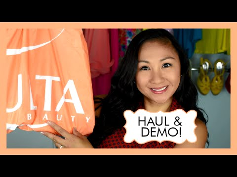 Ulta Haul! Demo & Swatches! NYX, Softlips Cube, Lancome, Nivea, Ulta brand makeup!